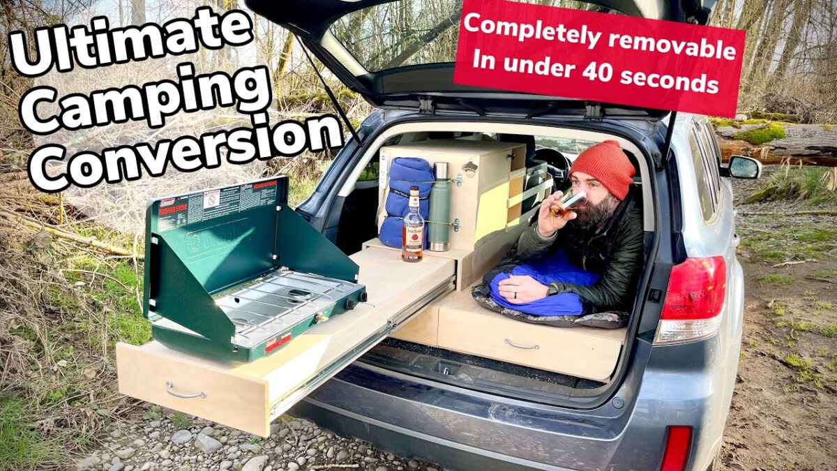 Look What I Did To My Friends Car || Ultimate DIY Camping Conversion